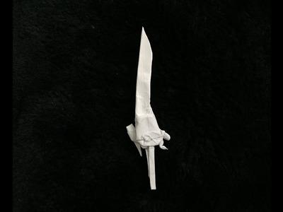 Origami engine blade