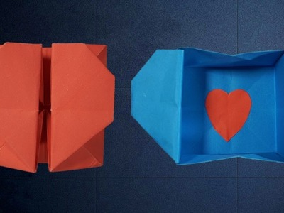 Origami: Heart Box & Envelope | How To Guide