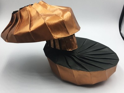 Origami Slanted Vase (Rebecca Gieseking) Double Diagonal Shift V2