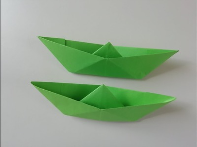 PAPER SHIP NEW. ORIGAMI