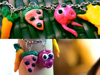 Polymer clay jewelry #polymer_clay_jewelry #polymer_clay_tutorial
