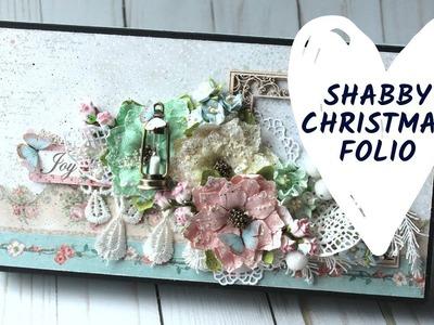 Shabby Christmas Folio
