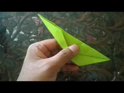 Very Easy, How To Make a Canoe Real - ORIGAMI TUTORIAL