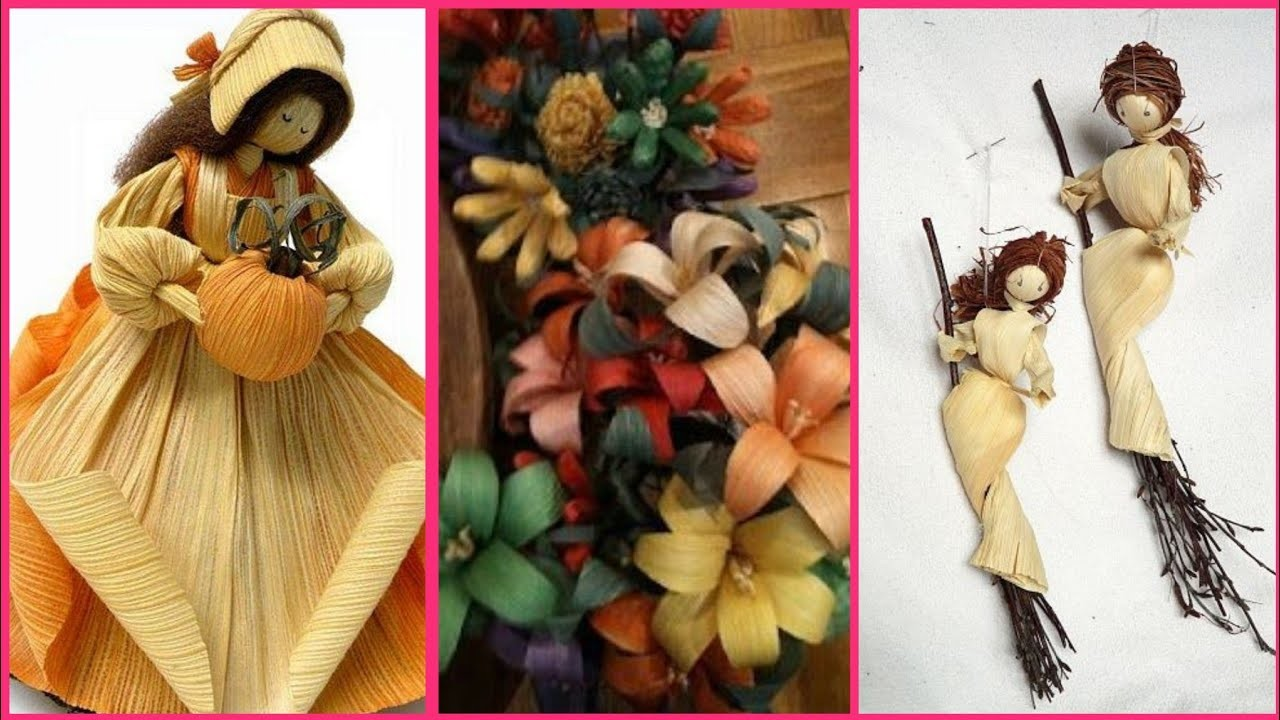 Beautiful ???? corn craft ideas