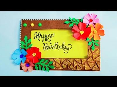 Beautiful handmade Birthday Greeting Card    Complete tutorial