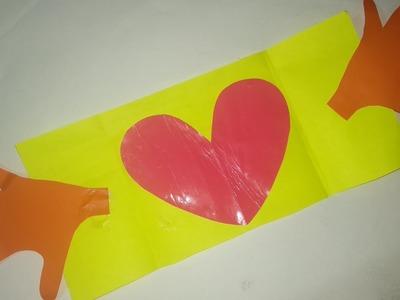 Bestoutofwaste | easy card | handmade card | diy card | cards ideas | #kidsdiy #bestoutofwaste