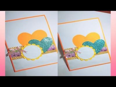 Birthday card l handmade card l best friend card l simple card l Valentine card by Craftscraze