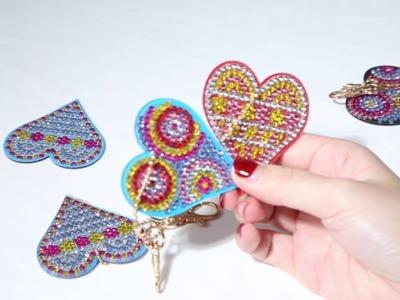 Cesdeals | New Creative DIY Diamond Lovely Keychain
