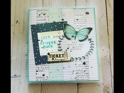 Craft with Me I DIY Sticker Book