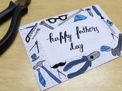 DIY FATHER'S DAY CARD 2019 | By PAINTING |Art, Craft and Health