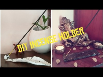 DIY incense holder|agarbathi holder