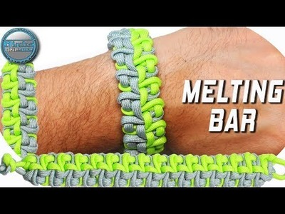 DIY Paracord Bracelet the Melting Bar World of Paracord How to make paracord Bracelet by TIAT