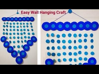 DIY Wall Hanging| Paper Craft Idea| Easy Wall Piece| Easy Craft| Art And Craft| #tulikajagga