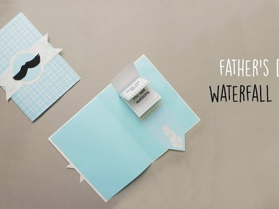 Father's Day Card   Handmade Cards   Waterfall Card