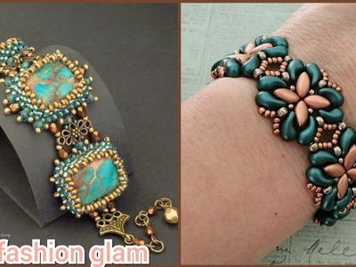 Gorgeous handmade beaded bracelets styles and patterns.seed beeds bracelets