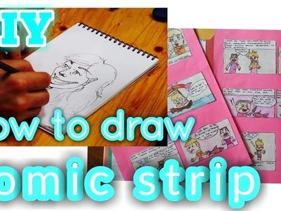 How to make your own comic book #CARTOONSTRIP #DIY #kids #fun #toys #activities #schoolsupplies