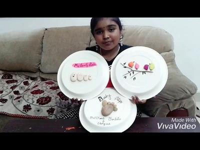 Kids Handmade Home Decor: Pebbles Painting