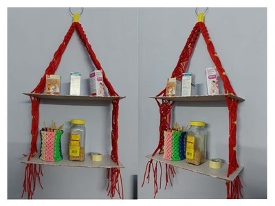 Macrame  Utility Rack #DIY