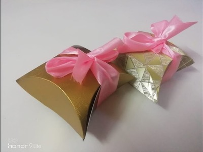 Mini Gift Box   Tutorial of simple box for beginners   Handmade gift