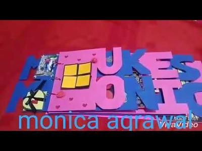 Name album. couple name. handmade gift. anniversary gift. monica agrawal.