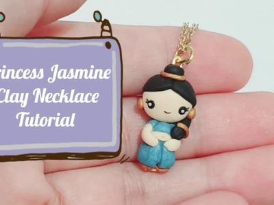 Princess Jasmine Clay Necklace Tutorial