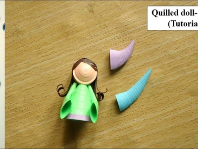 Quilled doll making - Arms (tutorial)
