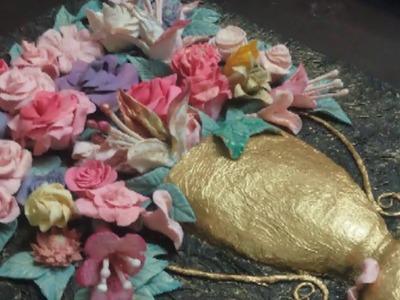 SOON . Wait Me in in my new flowers tablue.#handmade.the top ????❤????????