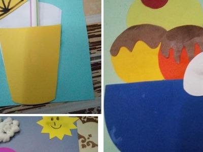 Summer art and craft | kids art and craft | Sana ishaque khan