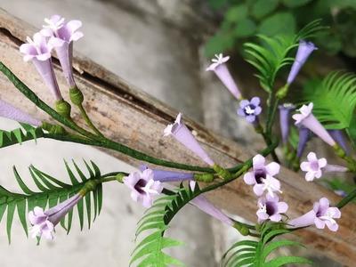 ABC TV | How To Make Vine Paper Flower | Flower Die Cuts - Craft Tutorial
