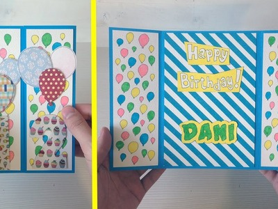 Birthday Gate Fold Card Tutorial | DIY Cards