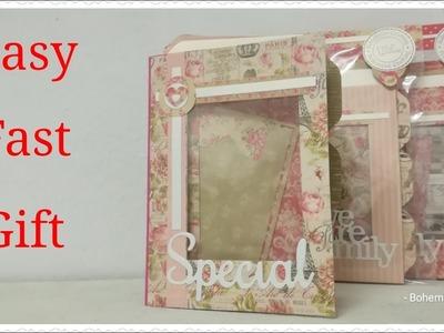 Craft fair idea DIY.teacher's.cooworkers gift ideas. Mini Photo folder