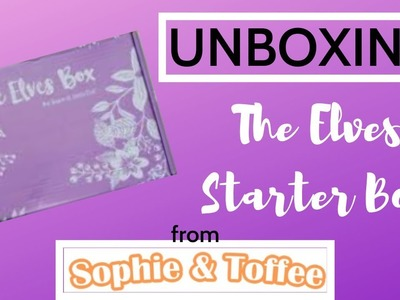 CRAFT SUBSCRIPTION BOX!!!!! Sophie & Toffee Starter Box Unboxing - Angel Potion