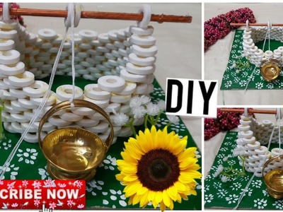 DIY:5 CRAFT WATER WELL MAKING FOR ENGAGEMENT. SUBSCRIBE.ENGAGEMENT GIFTS AND MARRIAGE ITEMS