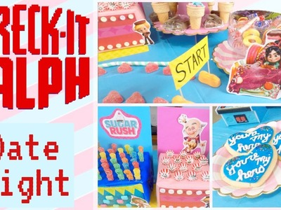 DIY Disney Date Night - Wreck It Ralph Craft Ideas - Sugar Rush Tutorial - Disney Couple