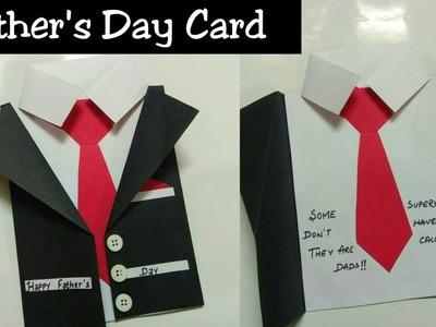 DIY Father's Day Card- easy tutorial || Unique design