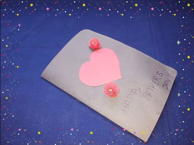 DIY:- Greeting Cards For Father's Day From Colour Paper