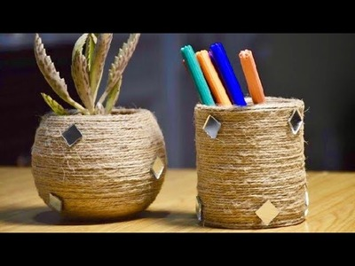 DIY Home Decor ideas | Reuse and Recycle | YummY Kitchen Craft ideas