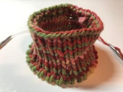 DIY Knit Dog Sweater Step by Step 1