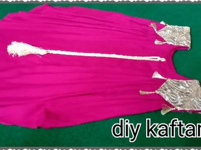 Diy.new Kaftan design by fashion creation.Arabic Kaftan design cutting and stitching