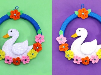 DIY SIMPLE WALL PIECE Making from WASTE MATERIALS