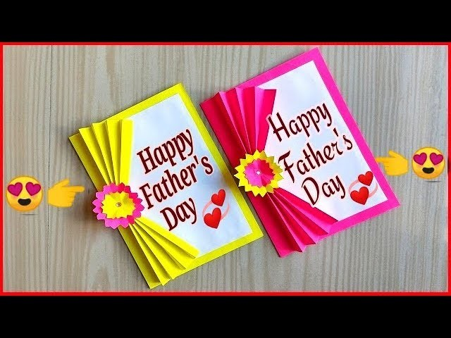Easy and beautiful card for father's day. DIY father's day cards. father's day cards ideas