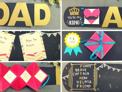 Father's day album. DIY birthday gift for your DAD