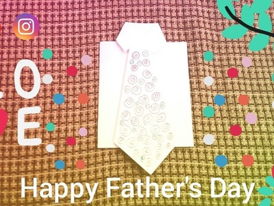 FATHER'S DAY CARD MAKING | DIY FATHER'S DAY CARD | AFIA CRAFT | CRAFTS EASY DIY