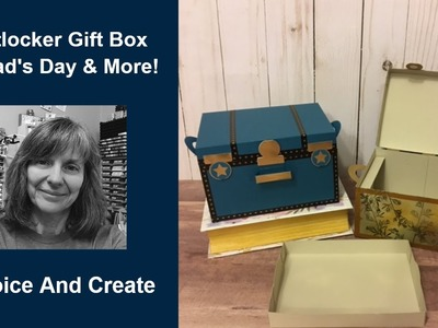 Father's Day Foot Locker, Cooler, Steamer Trunk, Hunter's box. Gift Box DIY Tutorial