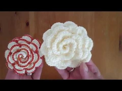 How to crochet big flower