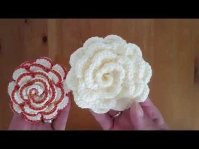 How to crochet big flower
