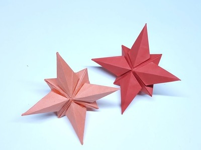 How to make simple star - craft ideas - paper art