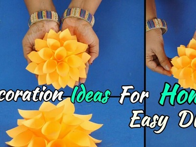 Paper Craft | Easy Origami | Birthday decoration Ideas for Home | Easy DIY