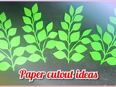 Paper cutout tutorial | DIY paper cutouts for decoration |