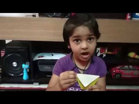 Paper folding cup Craft by Samriddhi Gupta
